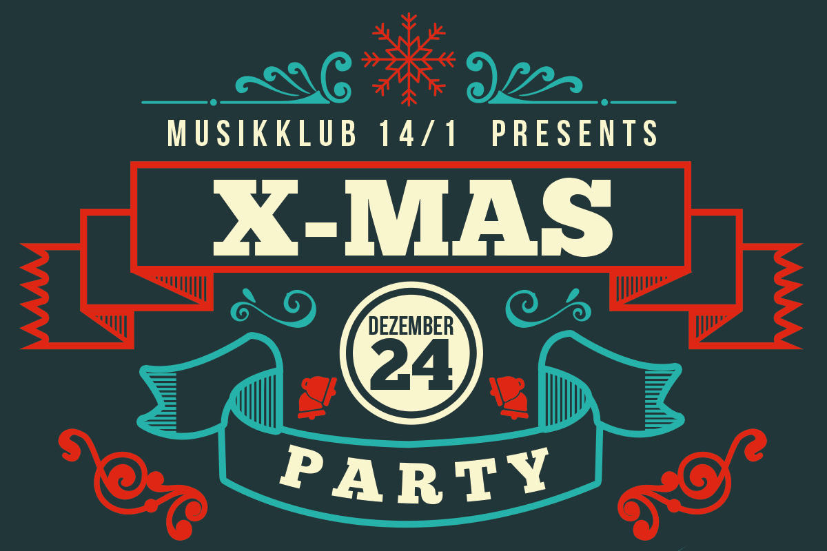 Musikklub 14/1 - X-Mas Happening - Party