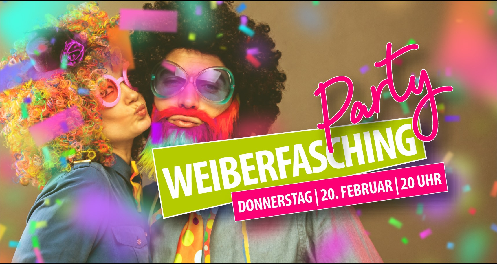 Musikklub 14/1 - Weiberfasching - Party